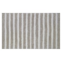 "Threshold Tufted Bath Rug Mat - Natural Stripe 34"" inch x 20"" inch - $18.69"