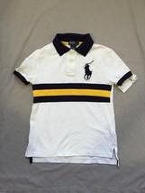 Ralph Lauren Childrenswear Boys' Broad Stripe Polo - Size 7 - $28.04