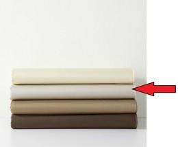 Calvin Klein Solid Sateen Pearl Edge California King Fitted Sheet Tanzan... - $56.09