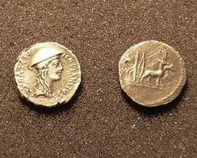 (RR-19) Denarius of Cn.Plancius COPY Bonanza