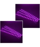 Lot8 12V Purple 30cm Car Undercar Flexible Waterproof Light Strip 15 LED... - $7.33