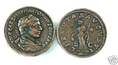 (DD S-85) Sestertius of Elagabalus COPY Bonanza
