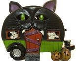 Gnz 5 Inch Light Up Cat Pull Behind Camper Trailer Halloween Decoration
