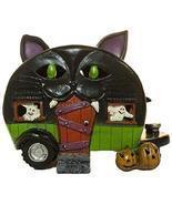 Gnz 5 Inch Light Up Cat Pull Behind Camper Trailer Halloween Decoration - $28.17