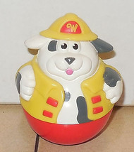 Playskool 2003 Weebles Dalmation Fireman Dog - $5.90