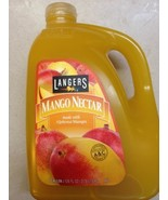 Langers Mango Nectar Made with Alphonso Mango, 1 Gallon, 3.78 Liters - $15.47