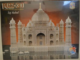 1995 Wrebbit ~ Taj Mahal ~ 1077 Piece 3D Puzzle ~ New Sealed - $49.95