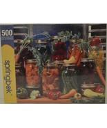 2008 Springbok ~ Canned  Veggies ~ 500 Piece Jigsaw Puzzle ~ Ball Jars V... - $24.95