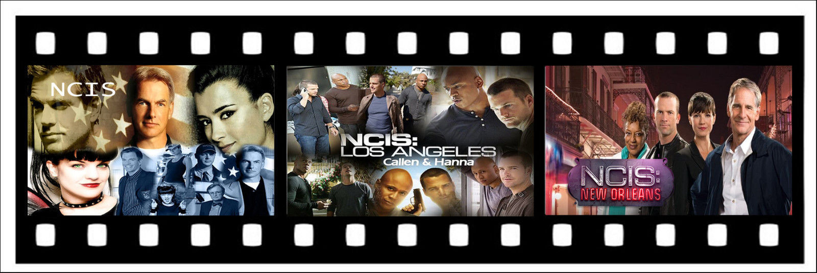 Film Strip 3 NCIS Bookmark