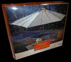 Umbrella String Lights-$60 SONOMA Outdoor Shooting Star Dorm Lighting-Bed Canopy image 4