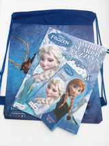 Back Pack Disney Frozen AnnaElsa Friendsactivity books coloring puzzles ... - $12.82