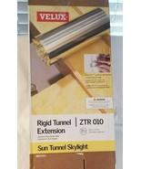 "Velux ZTR 010 Rigid Tunnel Extension, Sun Tunnel Skylight  10"" X 24"" dented - $34.29"