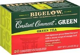 Bigelow Constant Comment Green Tea 20 Tea Bag Box - $8.86