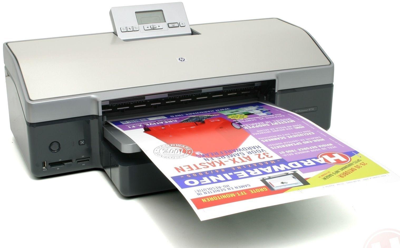 Hp Photosmart 8750 Professional wide format color printer (Q5747A)