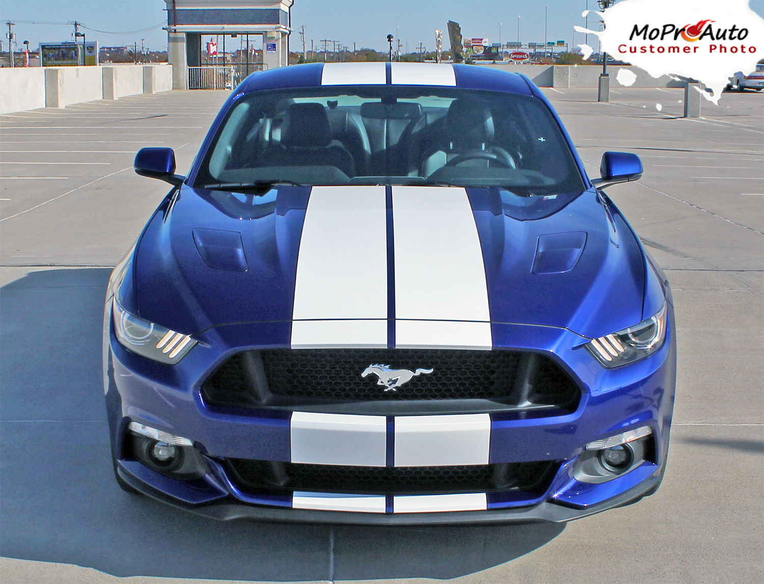 2016 Ford Mustang Lemans Hood 10 Quot Racing Rally Stripes 3m