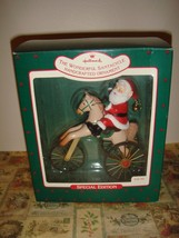 Hallmark 1988 The Wonderful Santacycle Ornament - $15.99