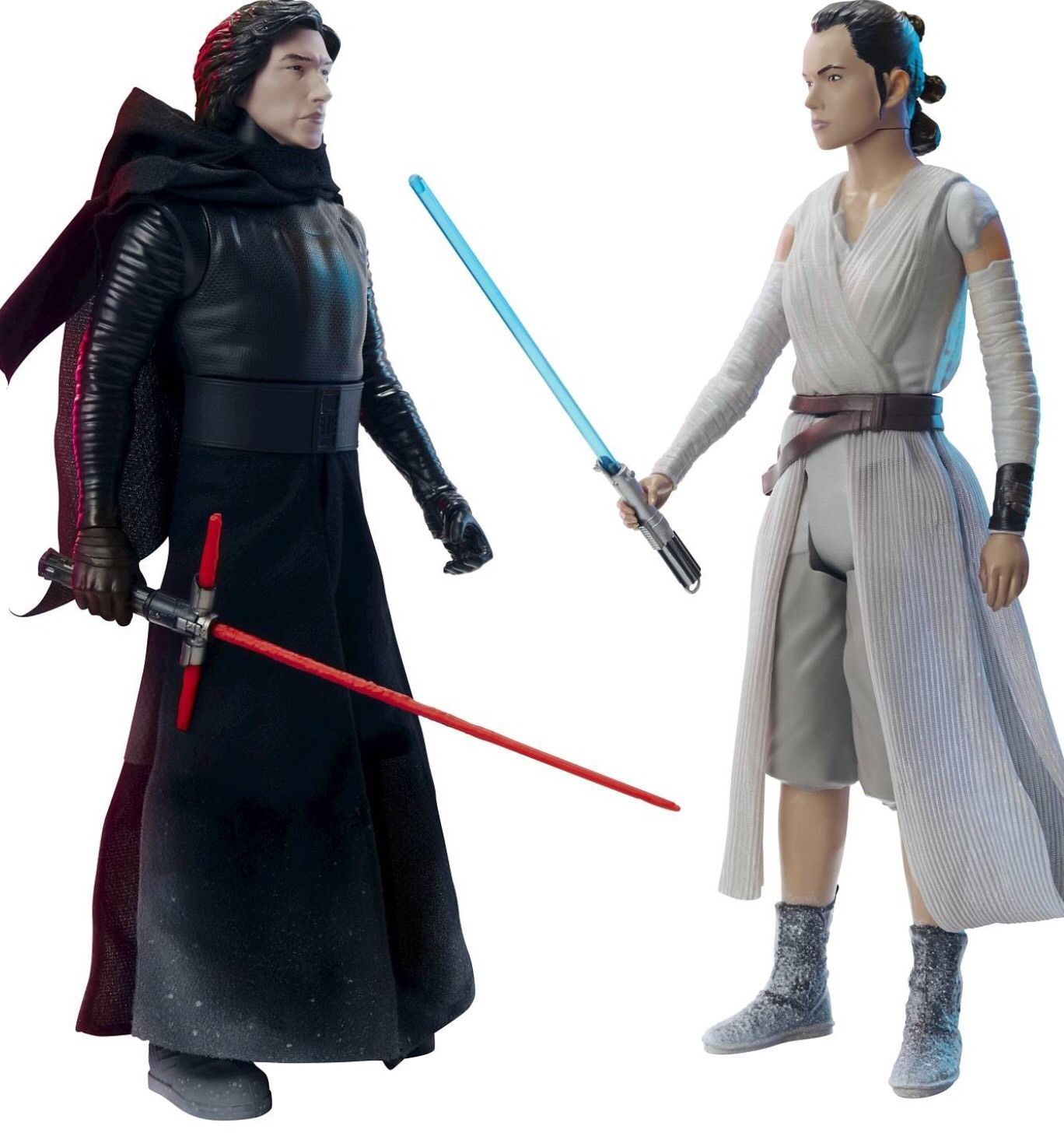 "Star Wars Big Figs KYLO REN vs REY - Starkiller Base Showdown 18"" Action Figures - $39.94"
