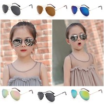 Girl Sunglasses Dual Beam Anti UV400 Children Google Fashion Eyewear All... - $9.39