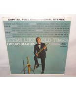 VTG Freddy Martin (Seems like old times) Singing Saxophone Capitol Records - $11.46