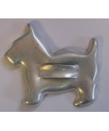 Tin scottish terrier cookie cutter thumbtall