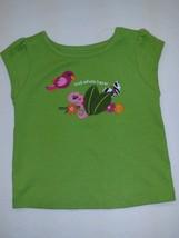 Nwt Gymboree   Baby Girls Green Tee Shirt 3 6 M - $11.39