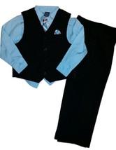 Arrow Boy's 6 Formal Suit 4PC Set: Striped Vest, Pants, Shirt & Tie East... - $28.61