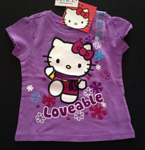 children's place HELLO KITTY  GIRLS T-shirt  Loveable christmas size 18-24 NWT - $9.41