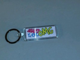 4D Pink XOXO LOL OMG  Keychain [Holographic Ima... - $5.93