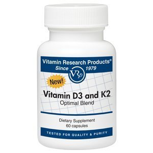 Vitamin D3 and K2 Optimal Blend