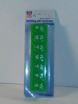 Rite aid 7-day Locking Pill box case  Reminder medicine - Small  - $4.46