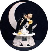 VAMPIRE Darcula Transylvanis Halloween Wedding Cake topper funny Groom t... - $36.53