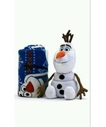 Disney Frozen Olaf 2-pc. Pillow & Plush Throw Set - Fleece Blanket - £18.49 GBP