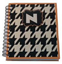 NEW  PERSONALIZED JOURNAL NOTEBOOK SPIRAL BOUND  INITIAL NOTEBOOK LETTER N - $12.38