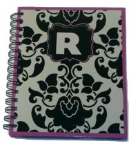NEW  PERSONALIZED JOURNAL NOTEBOOK SPIRAL BOUND  INITIAL NOTEBOOK LETTER R - $12.38