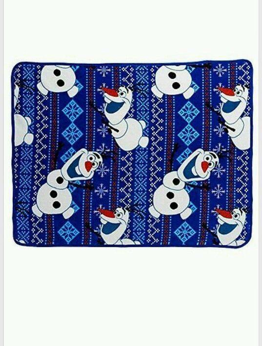Disney Frozen Olaf 2-pc. Pillow & Plush Throw Set - Fleece Blanket