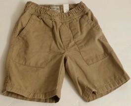The Childrens Place Khaki Stone  School Uniform Shorts  Toddler Boys Size 5  (#B - $8.99