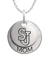 Saint John Red Storm MOM Necklace - $59.00