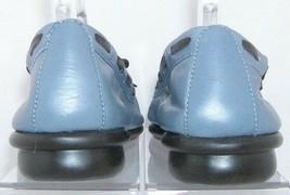 Aerosoles 'Jam Corder' blue leather round toe bow slip on loafer flats 8.5B 6163 - $29.31