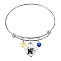 Memphis Tigers Sterling Silver Bangle Bracelet - $79.00