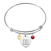 Rutgers Scarlet Knights Sterling Silver Bangle Bracelet - $79.00
