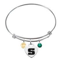 Slippery Rock The Rock Sterling Silver Bangle Bracelet - $79.00