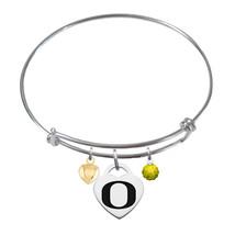Oregon Ducks Sterling Silver Bangle Bracelet - $79.00