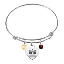 Transylvania Pioneers Sterling Silver Bangle Bracelet - $79.00