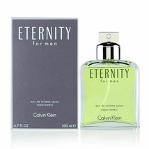 Eternity by Calvin Klein for Men 6.7 oz EDT Spray Brand New - $47.97