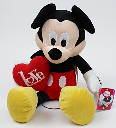 Mickey Mouse Valentines Plush Doll