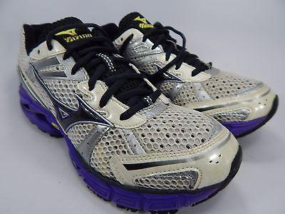 Mizuno Wave Inspire 8 Women's Running Shoes Size US 8 M (B) EU 38.5 White Purple