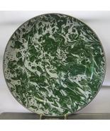 Green Swirl Enamel Serving Dish The Golden Rabbit The Bob Timberlake Col... - $35.00