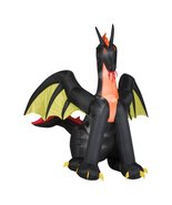 Halloween Decoration Outdoor Giant Dragon Yard Decor Airblown Inflatable... - $119.99
