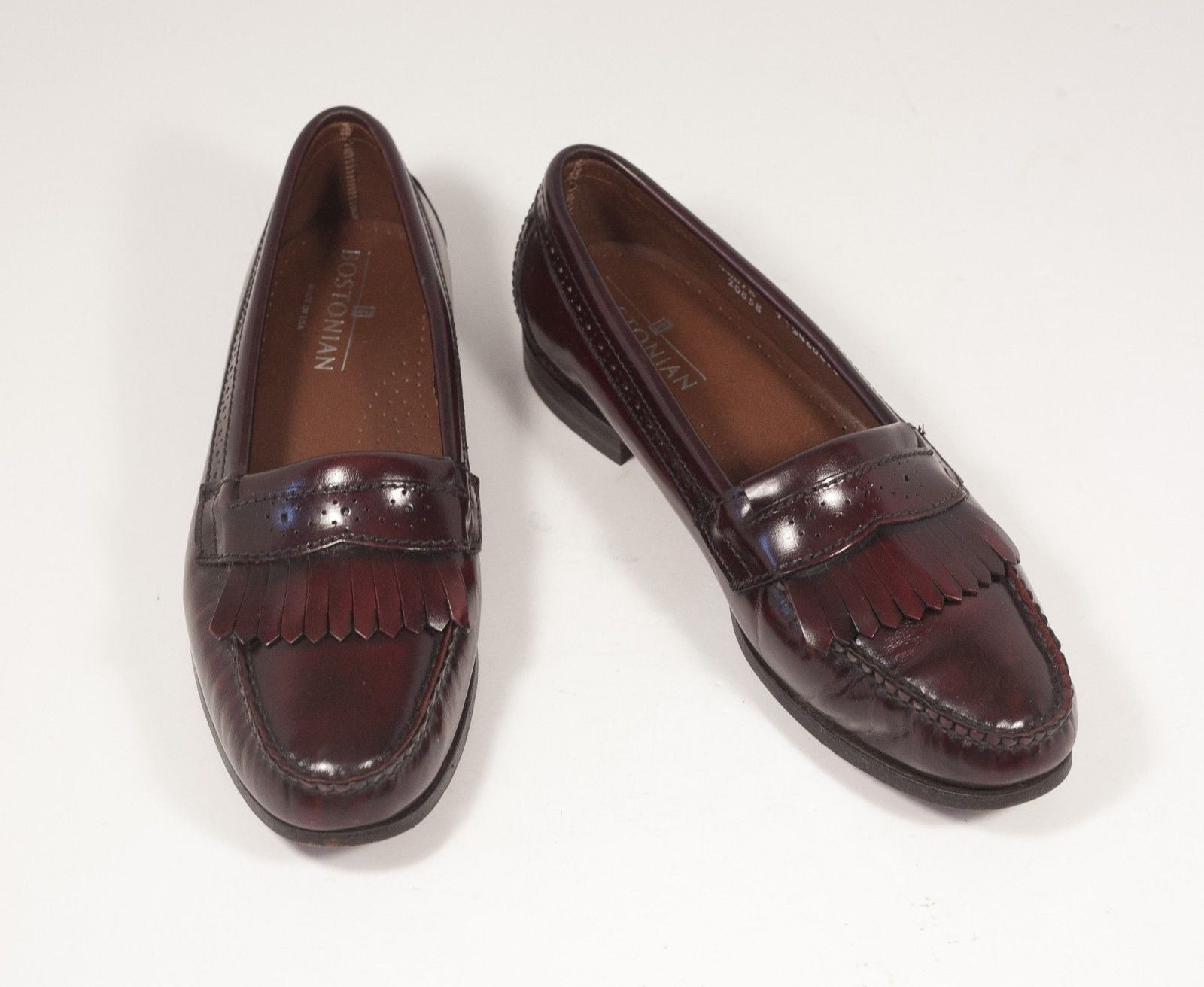 58a1310c5d7 Bostonian 9.5 Burgundy Loafers Kiltie and 40 similar items. 57