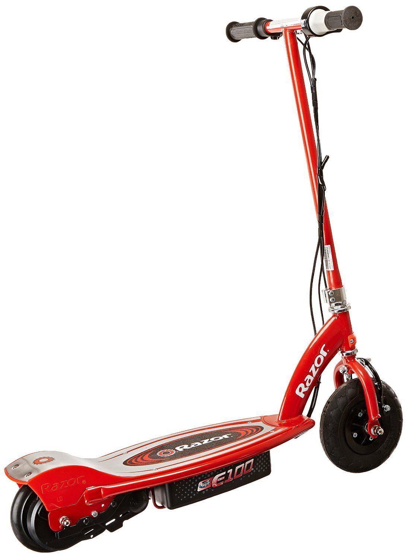 razor e100 electric scooter 24 volt recharge battery steel. Black Bedroom Furniture Sets. Home Design Ideas